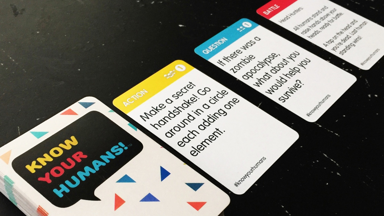 Know Your Humans Truth Or Dare Card Game By Kristen Brillantes