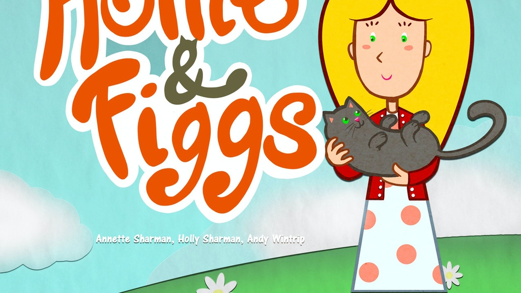 Hollie and Figgs - A magical children`s story book project video thumbnail