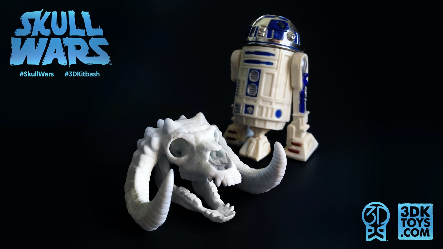A collection of 15 parody skulls inspired by the creatures and characters of Star Wars. Nylon skulls & 3D-printable files available.