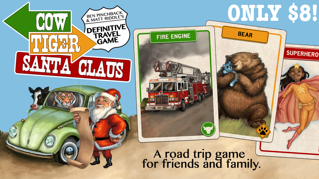 Cow Tiger Santa Claus - The definitive travel game ($8!) project video thumbnail