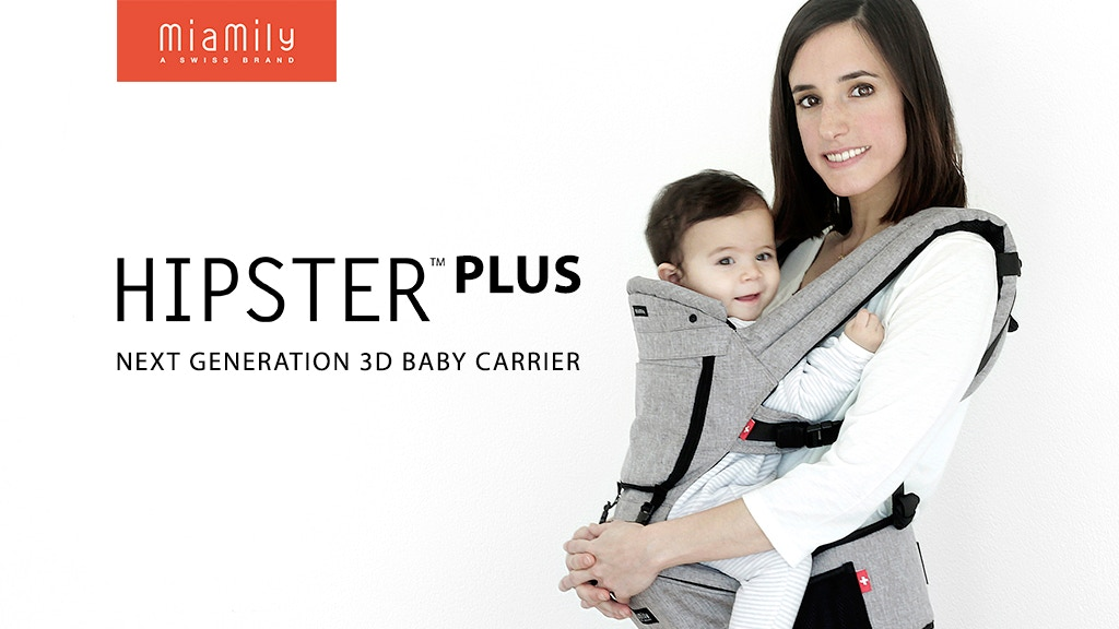 79ca974288b MiaMily HIPSTER Plus 3D Baby Carrier by MiaMily — Kickstarter