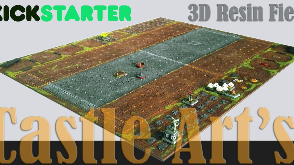 Football Fantasy 3D Resin Field project video thumbnail