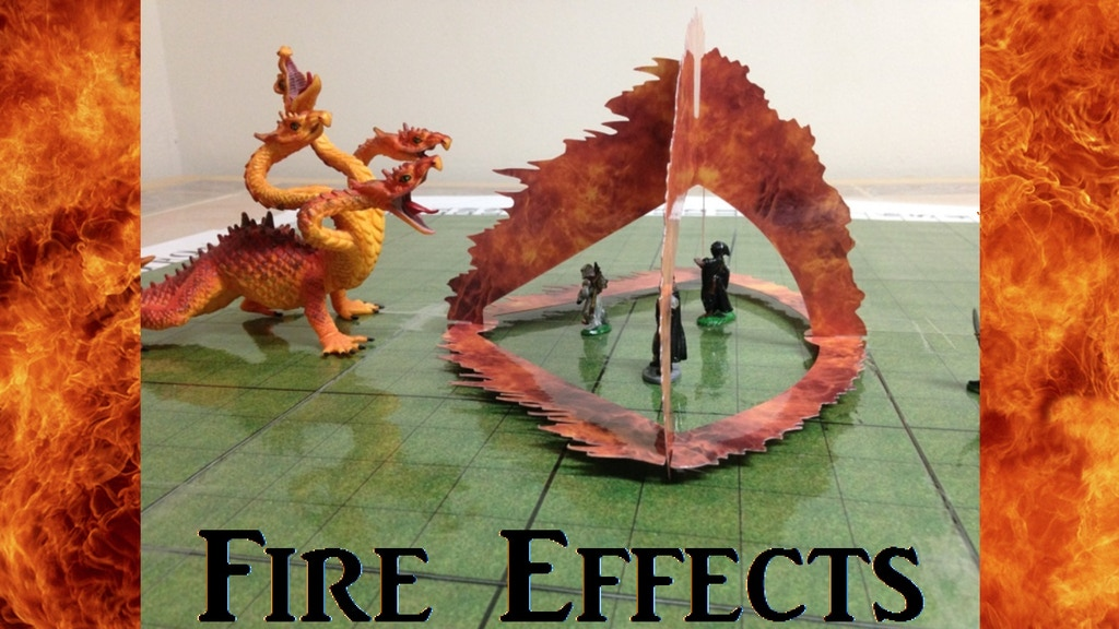 Area of Effect: Fire! (Table Top RPG Props: AoE and Spells) project video thumbnail