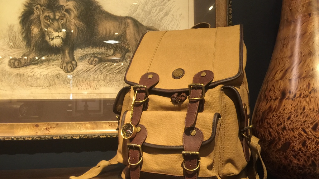 Cecil Safari Backpack by Wellington & Cromwell project video thumbnail