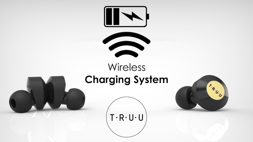 World's first wirelessly charged earbuds project video thumbnail