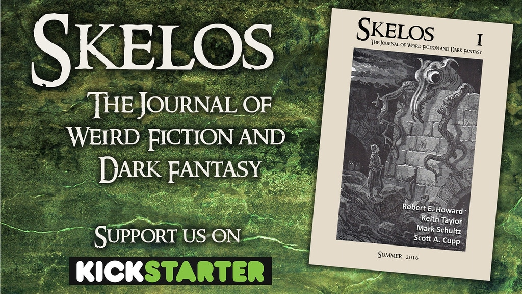 Skelos - The Journal of Weird Fiction and Dark Fantasy project video thumbnail