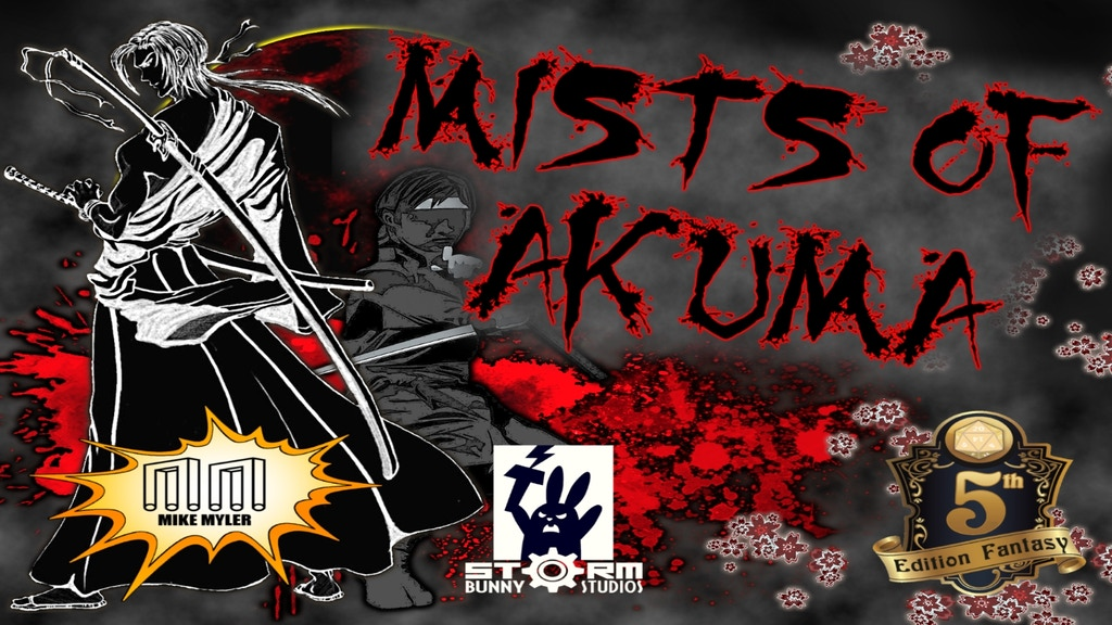 Mists of Akuma: Eastern Fantasy Noir Steampunk for D&D 5E by