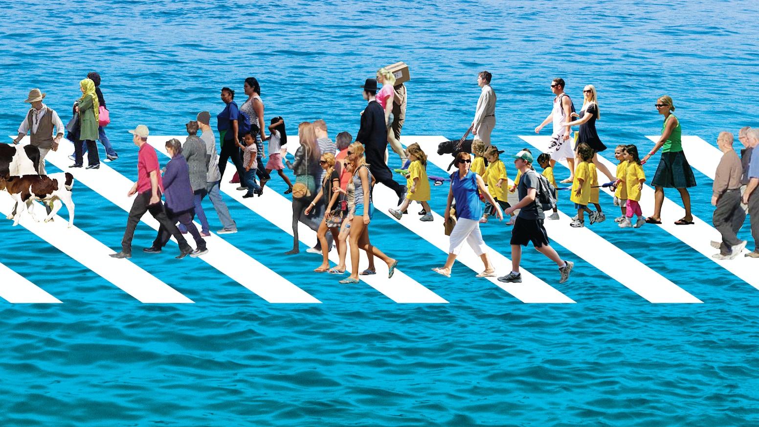 citizen bridge a floating pedestrian bridge by nancy nowacek