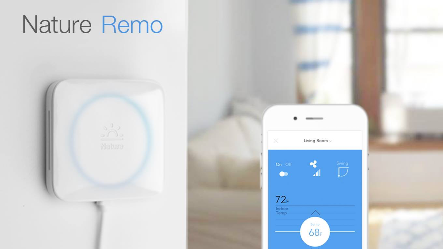 Let Remo take control of your air conditioner and save energy with convenience and comfort.