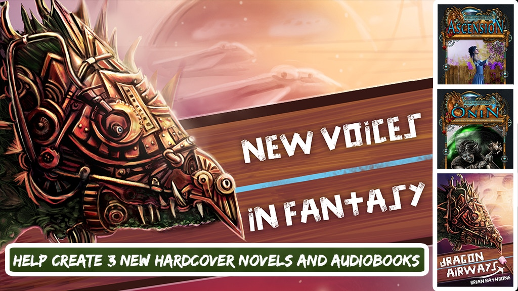 New Voices in Fantasy Fiction - Books with Magic and Dragons project video thumbnail
