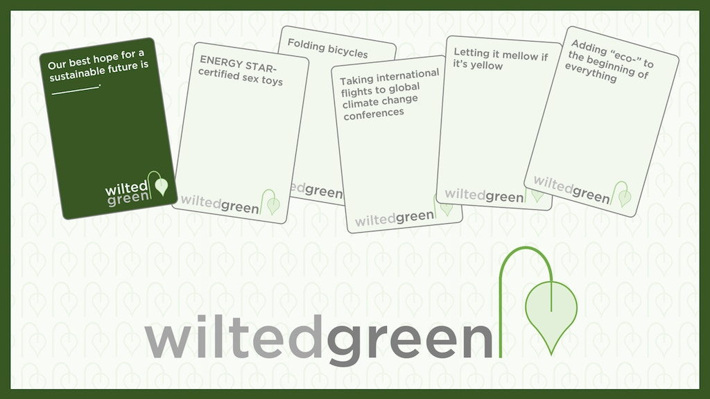 Wilted Green project video thumbnail