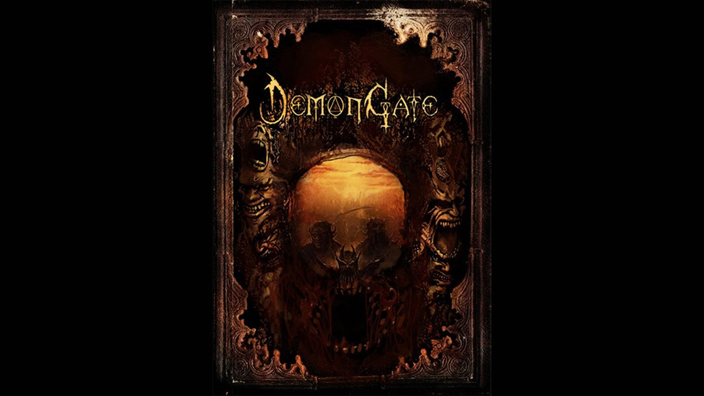 Demon Gate: apocalyptic fantasy tabletop role-playing game project video thumbnail