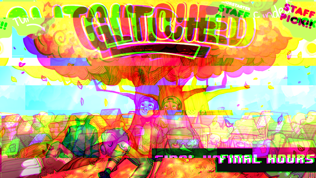 GLITCHED project video thumbnail