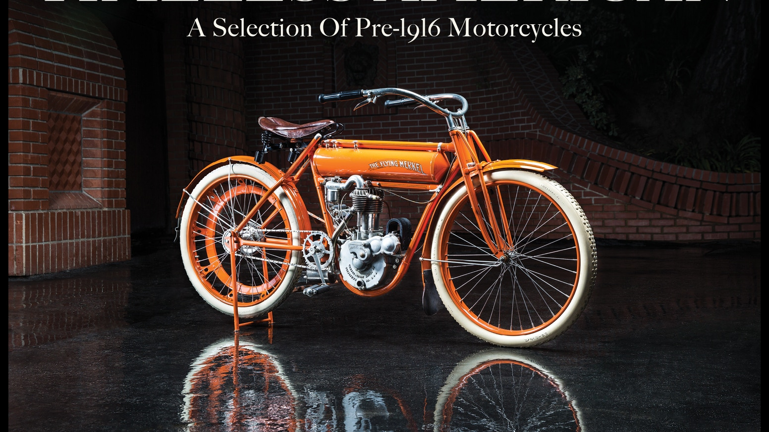 Timeless American is a beautiful book showcasing 46 original American made motorcycles from 1900-1915