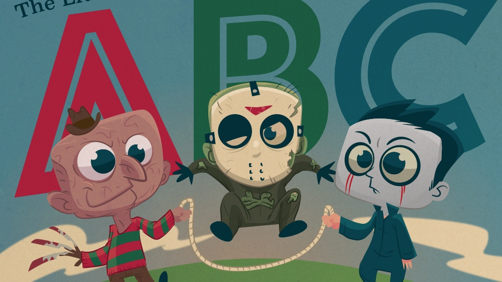 The Little ABC Book of Horror project video thumbnail