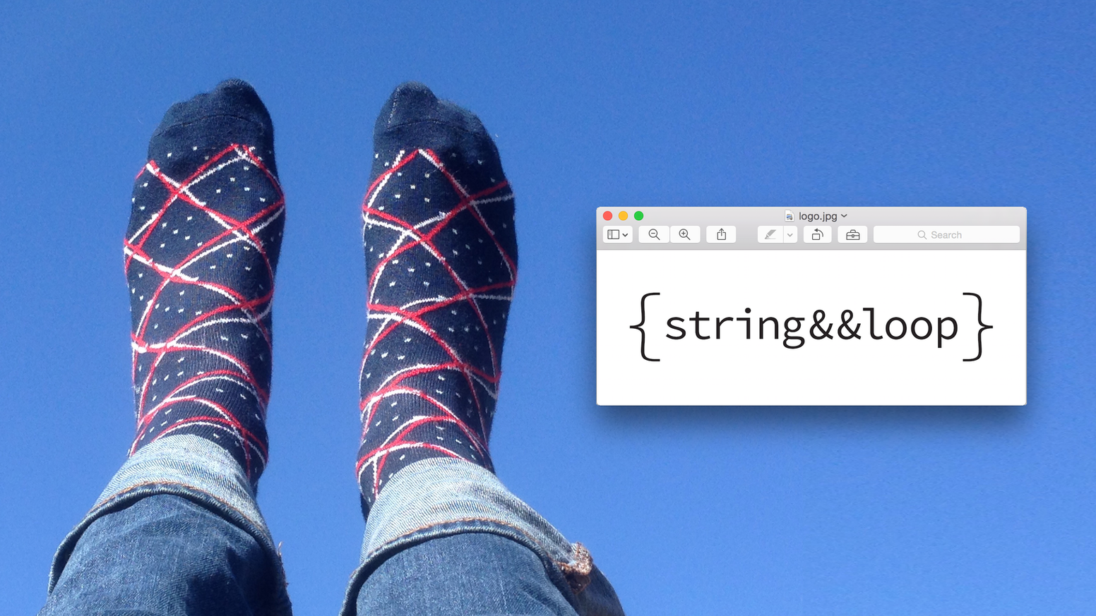 /*The world's first line of generatively designed knit socks. Remaining pairs from the first line available at stringandloop.com*/