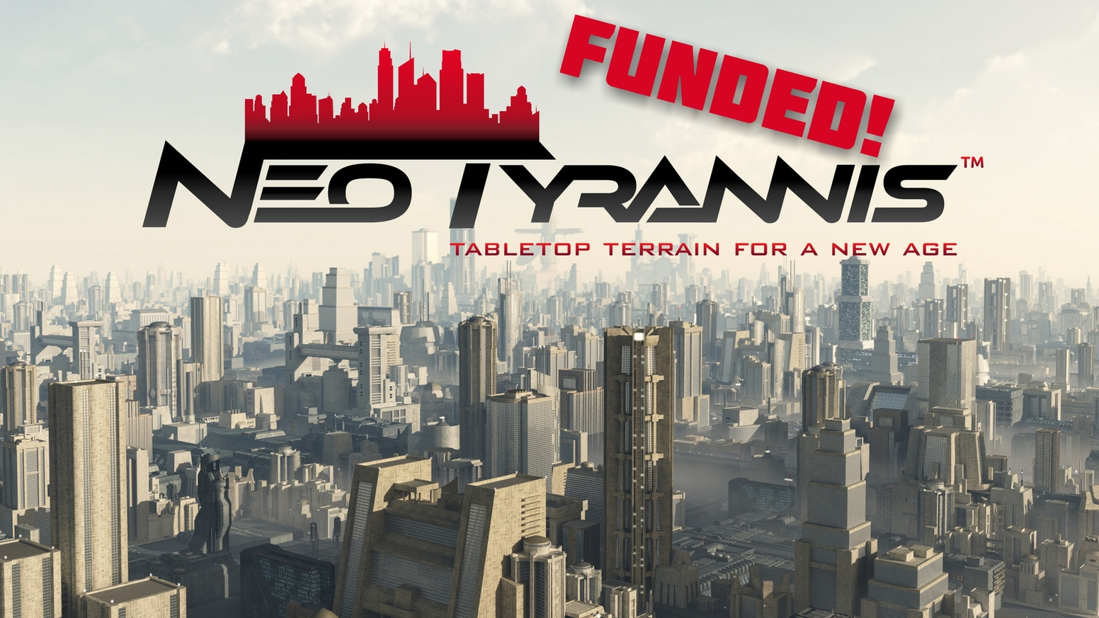 Neo Tyrannis Cityscapes is a line of multi-scale Sci-Fi buildings and accessories for use with 6 and 10mm game systems.