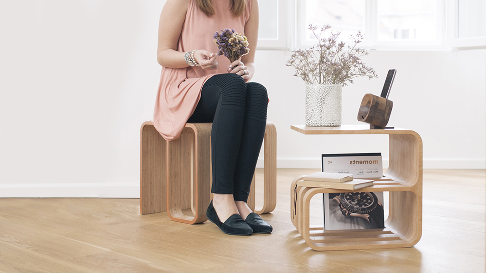The adaptable piece of furniture that fits  into every space and lifestyle.