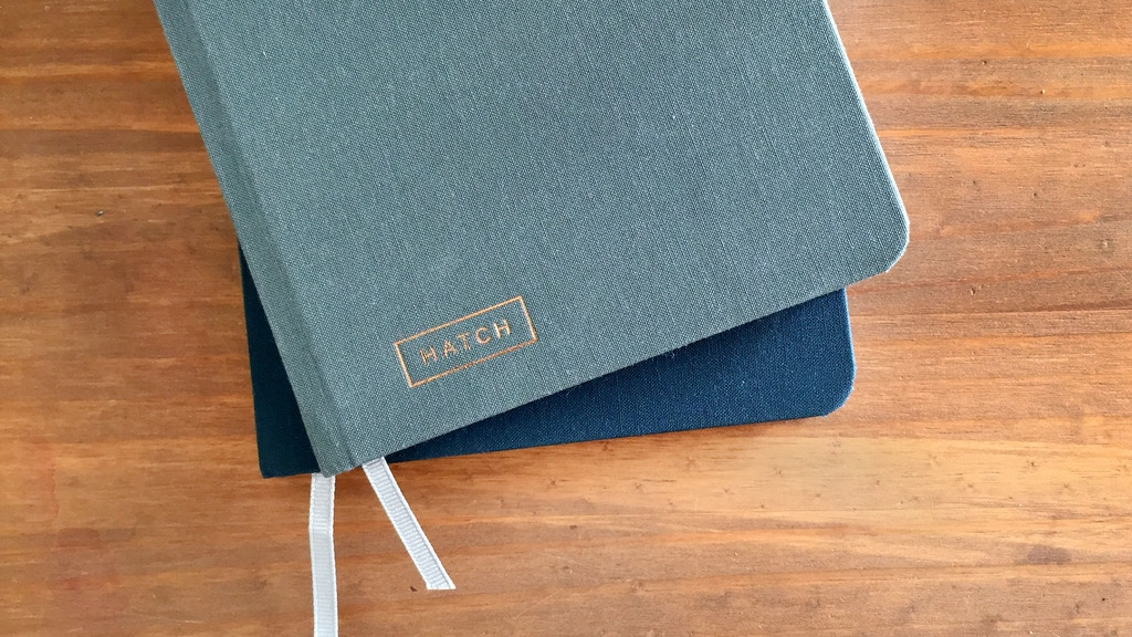 HATCH - A notebook for makers & entrepreneurs project video thumbnail