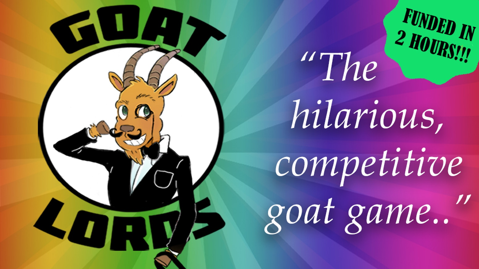 Want to be LORD OF THE GOATS? Start building your herd using thievery, magic, bombs and mostly goats.