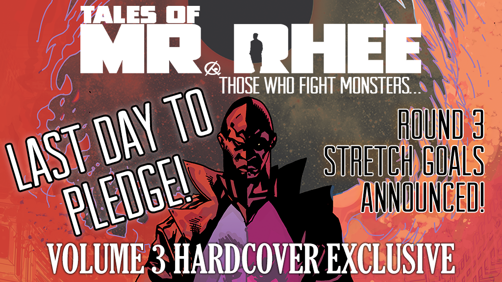 "TALES OF MR. RHEE: ""Those Who Fight Monsters..."" Hardcover project video thumbnail"
