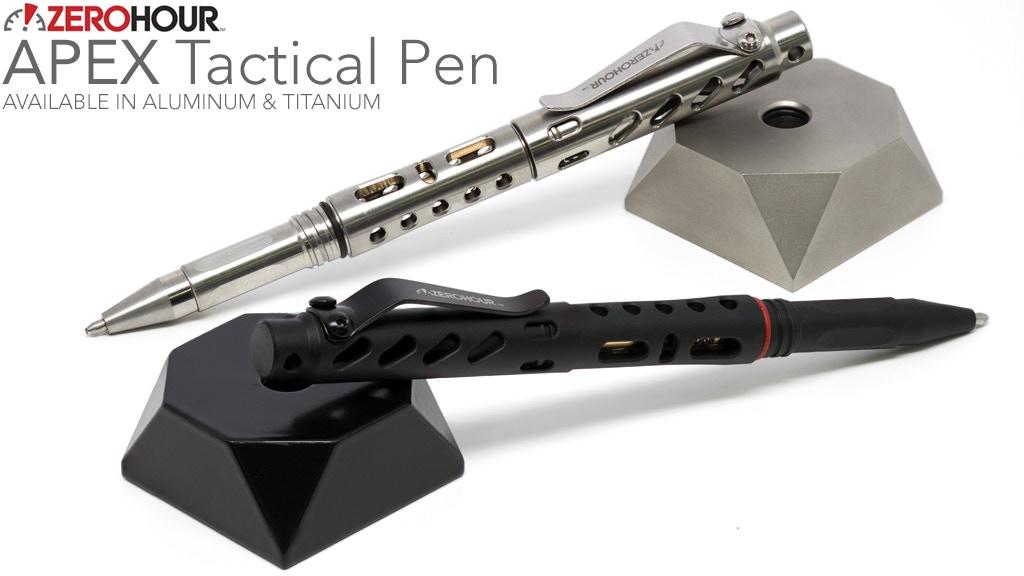 ZEROHOUR APEX: Titanium Tactical Pen with Tungsten Tip (EDC) project video thumbnail