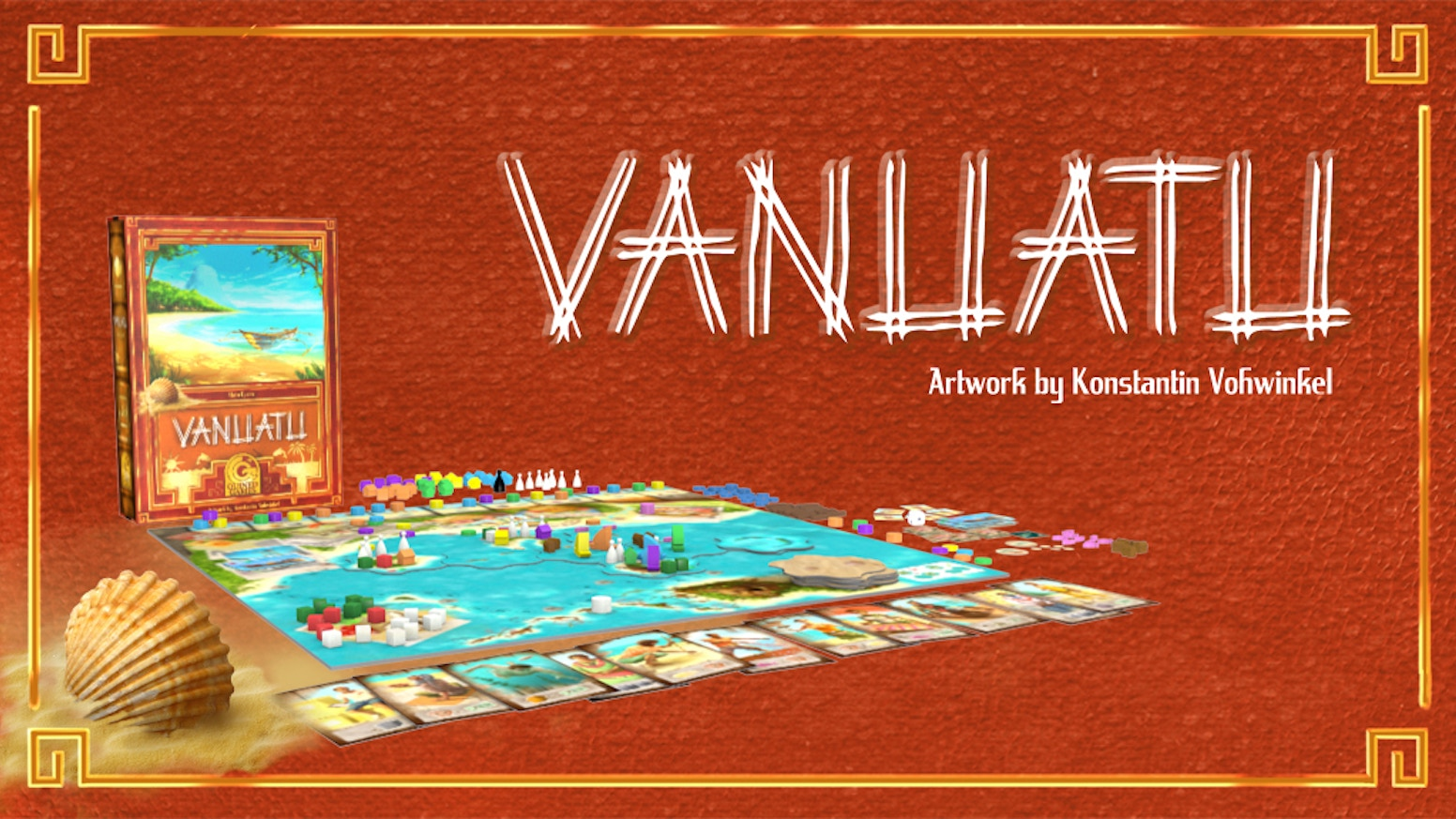 Let's bring the wonderful game of Vanuatu back to life with polished artwork and added mini-expansions.