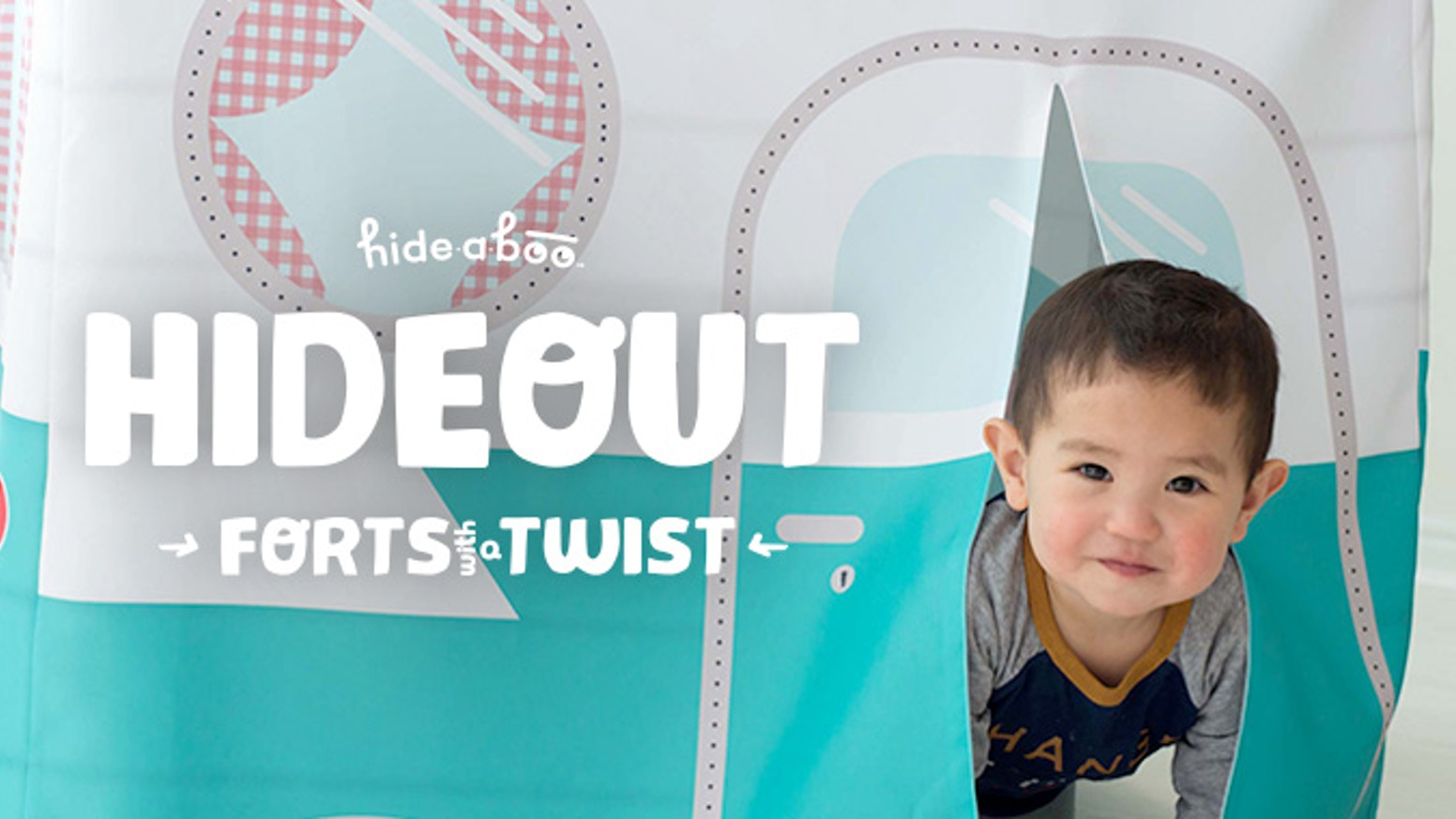Hideouts are forts with fun illustrations that slip over a card table encouraging imagination and creativity. Play is our mission.