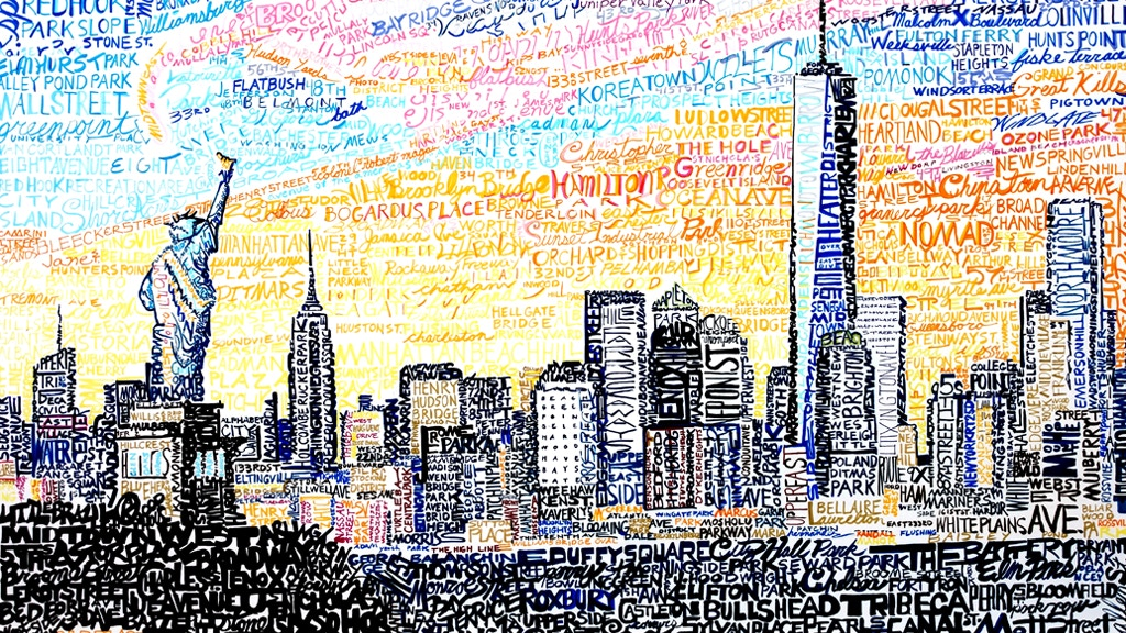 Art of Words / Cityscapes Created From Hand Written Words project video thumbnail