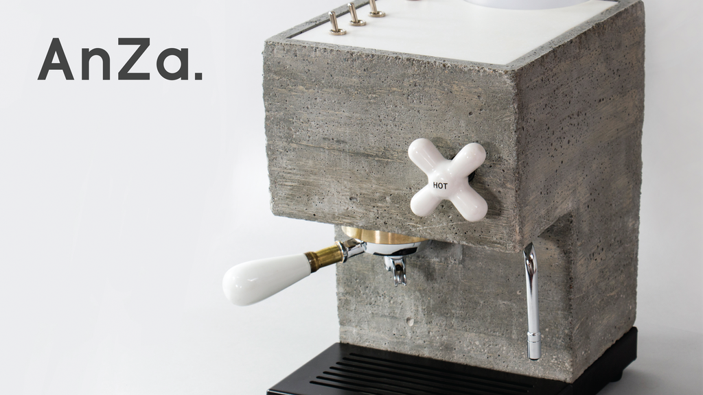 AnZa: Redefining the Espresso Machine in Concrete and Corian project video thumbnail