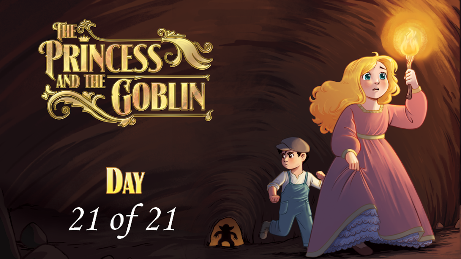 Trapped! Can you flip the right tiles to escape the goblin kingdom? A family-game based on the classic story for 1-4 players.