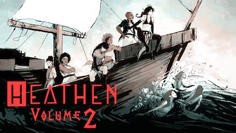HEATHEN Volume 2 by Natasha Alterici —Kickstarter