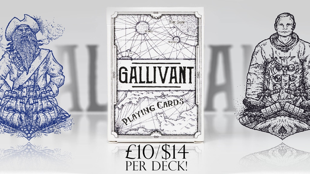 Project image for Gallivant: A deck of Exploration (Relaunch)