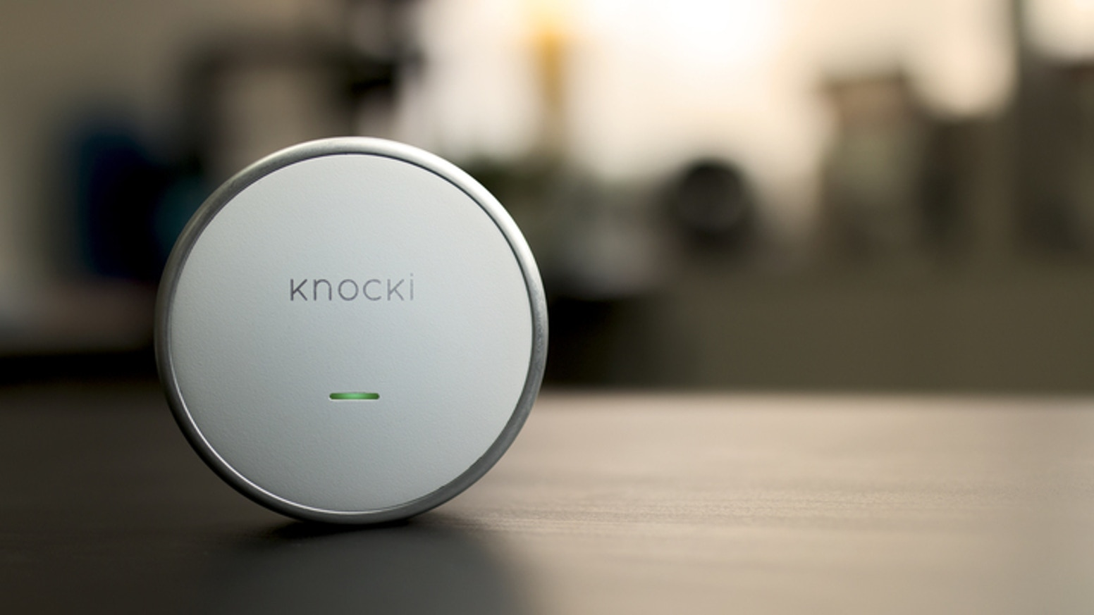 Knocki is a smart device that gives you control of your favorite functions through the surfaces around you.