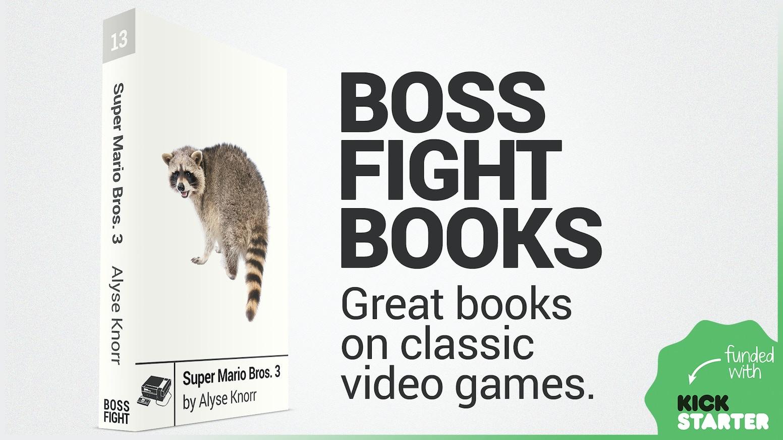 Boss Fight Books: Season 3 by Gabe Durham — Kickstarter