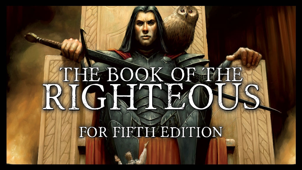 Book of the Righteous for Fifth Edition project video thumbnail