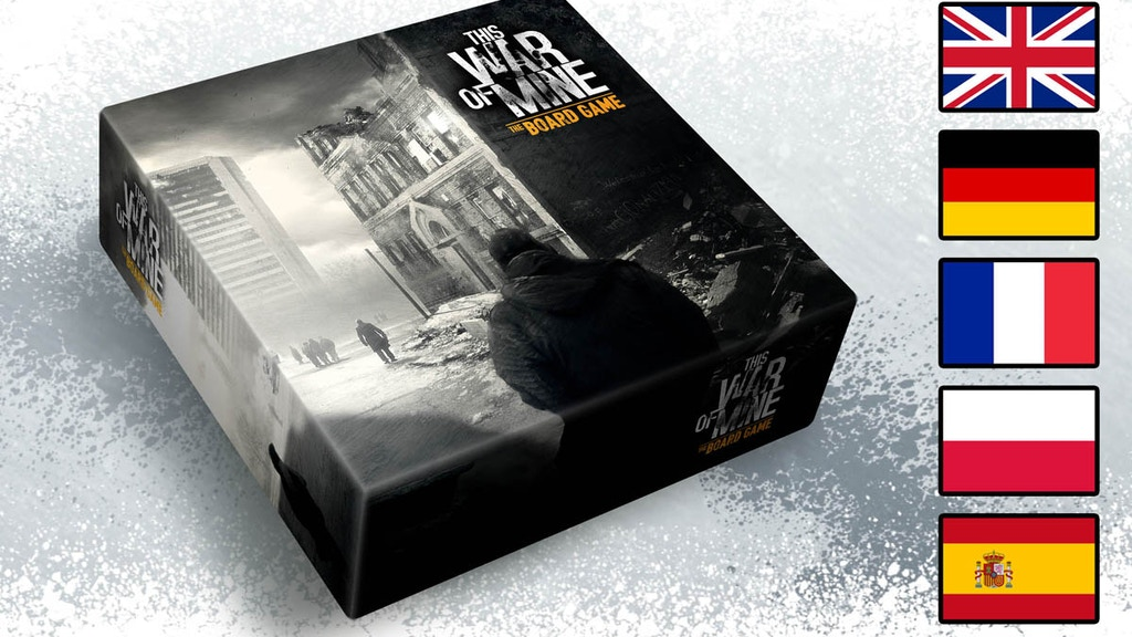 This War Of Mine: The Board Game project video thumbnail