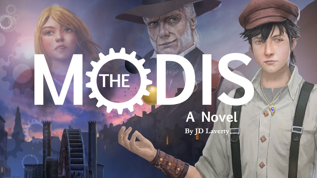 The Mōdis - An Adventure Novel by JD Laverty project video thumbnail