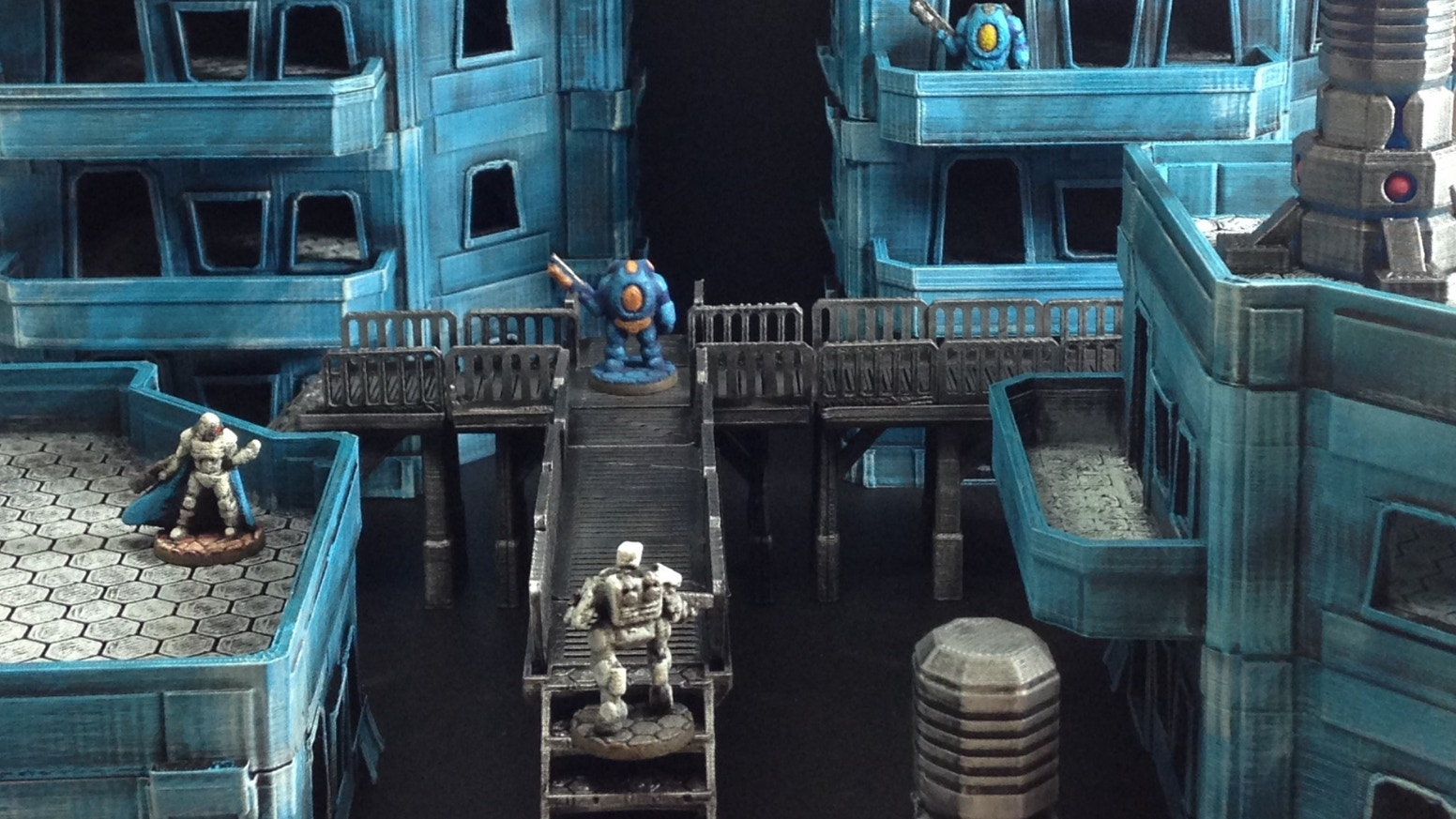 Starchitecture: 3D printed 15mm scale Sci-Fi Cityscape by
