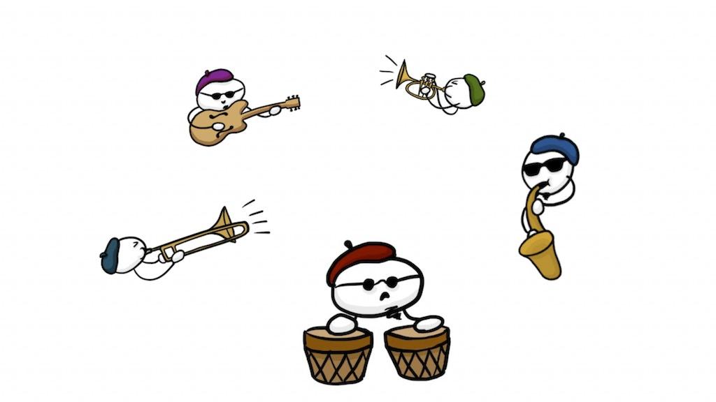 A Little Pocono Git-Down (modern big-band CD) project video thumbnail