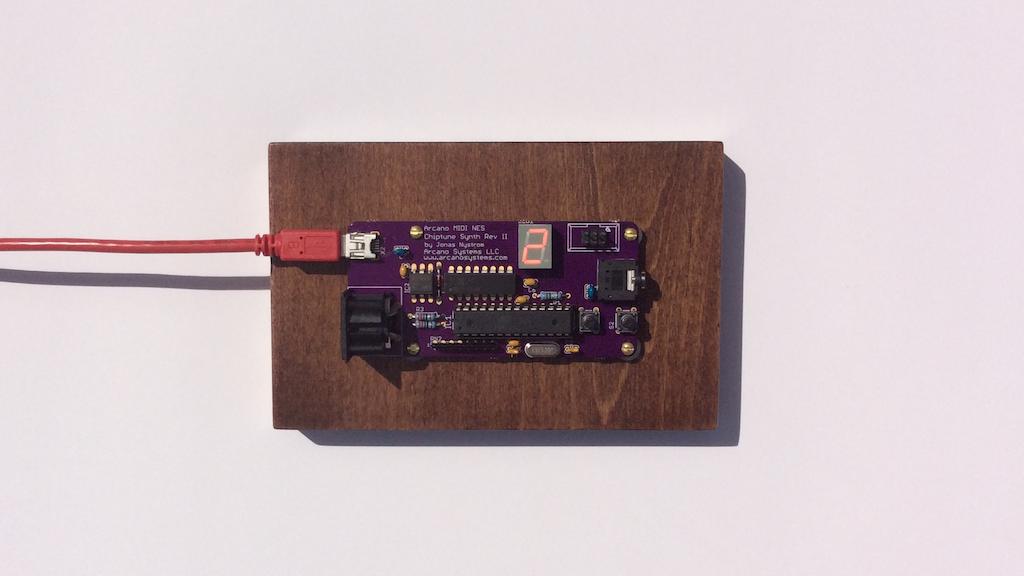 Arcano MIDI NES Chiptune Synth 2 - Classic Nintendo Sound project video thumbnail