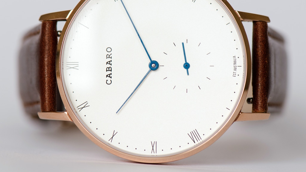 CABARO Swiss Watches - Classic, But Different project video thumbnail