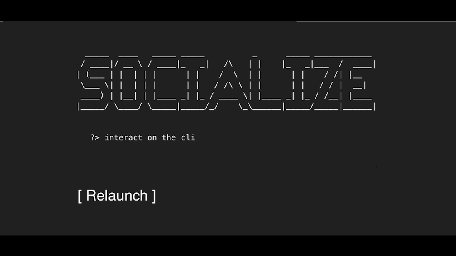 Socialize is a minimalistic social network for programmers, nerds, geeks and technology fans. Interact with your friends - on the CLI!