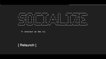 [RL] Socialize - A social network on the command line
