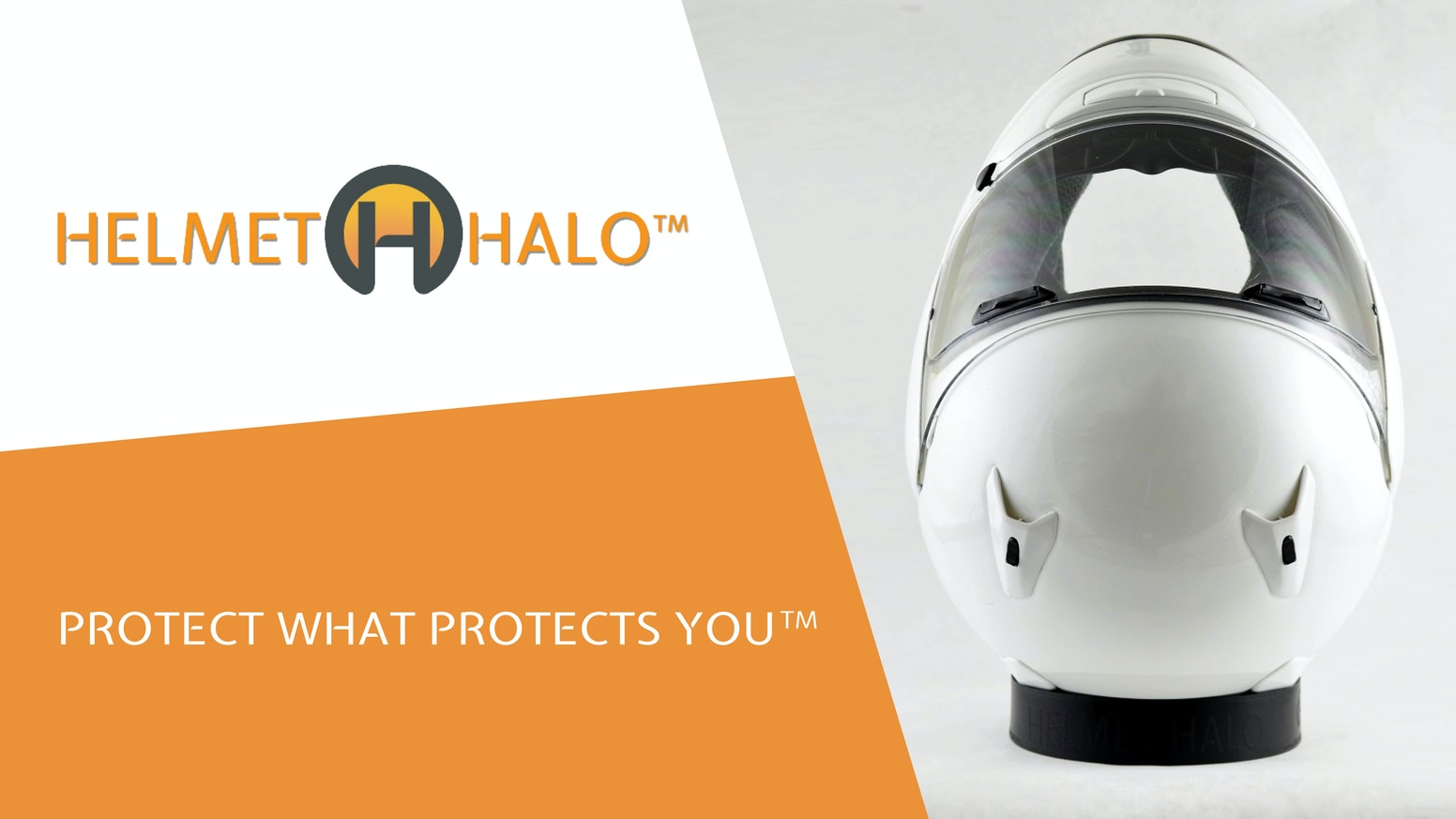 Helmet Halo is the motorcycle helmet holder that fits in your pocket & goes everywhere. Flexible, strong, and easy to use.