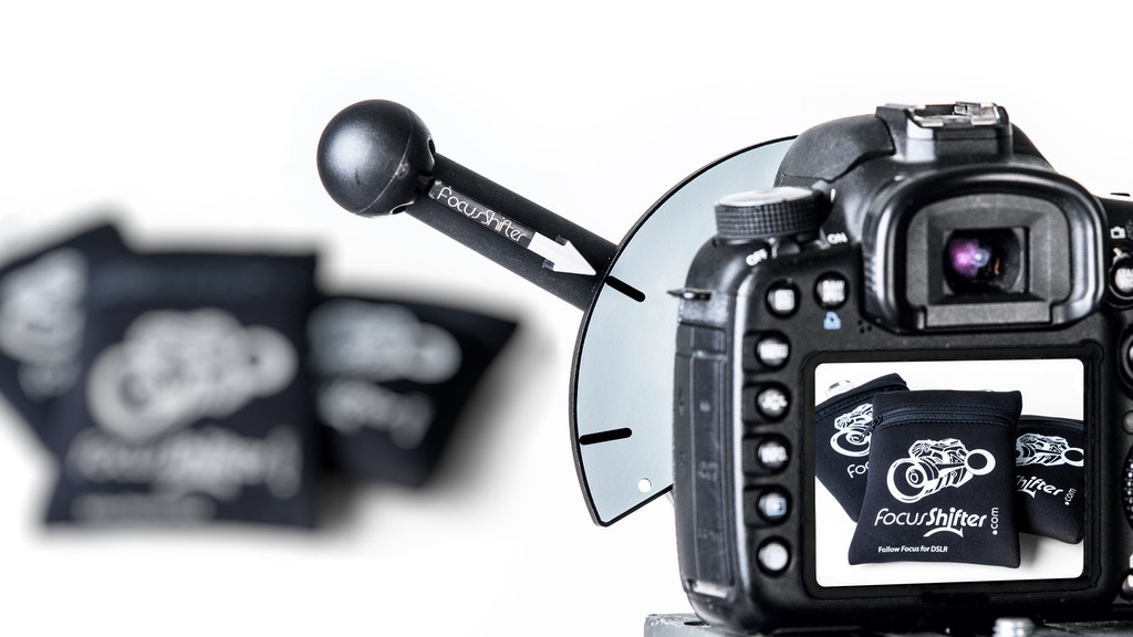 FocusShifter Follow Focus for DSLR Camera with Custom Pouch project video thumbnail
