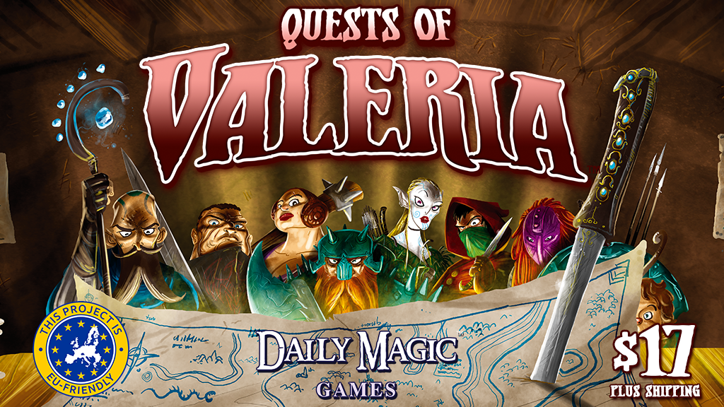 Quests of Valeria project video thumbnail