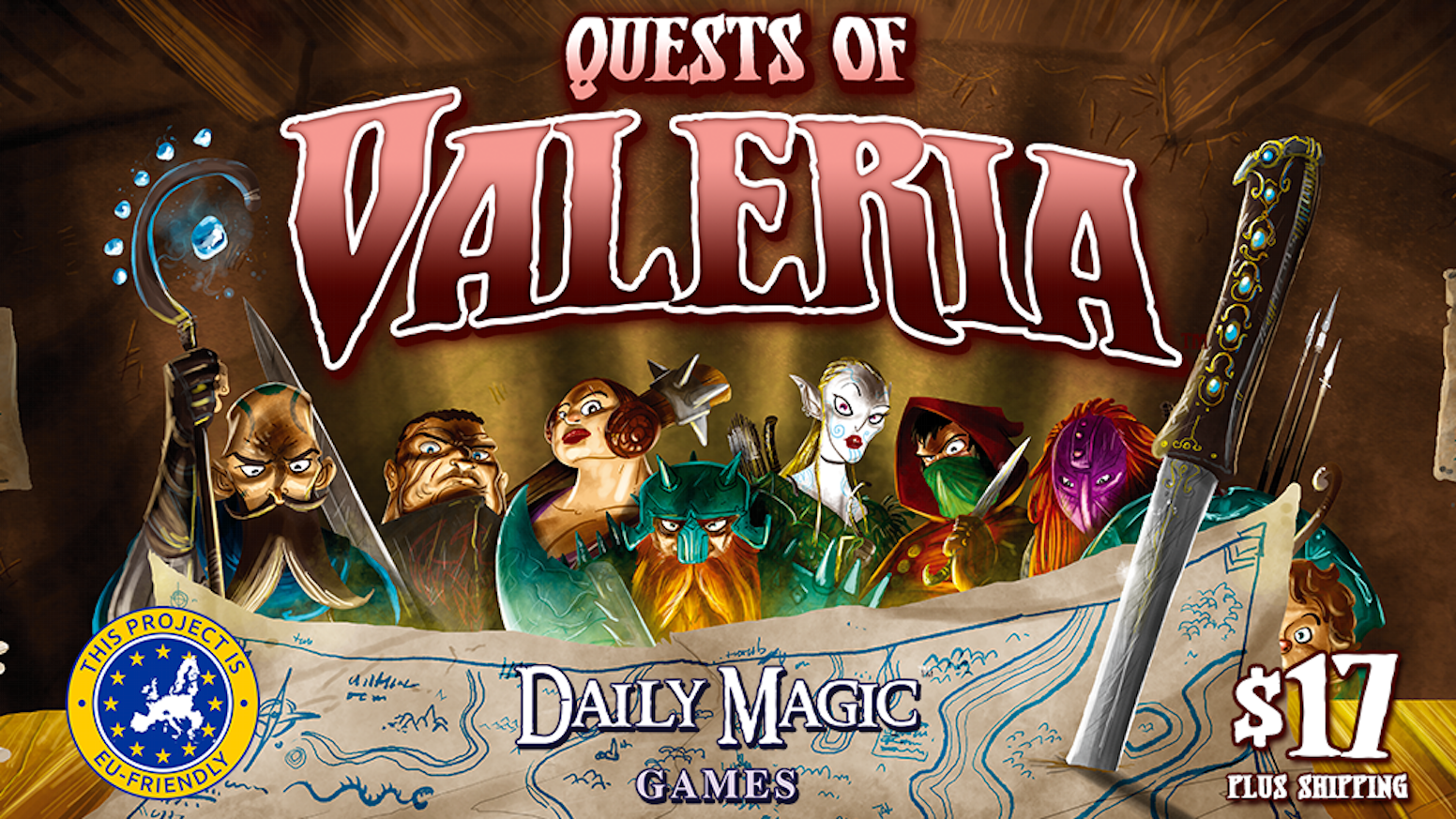 Quests Of Valeria By Daily Magic Games Kickstarter
