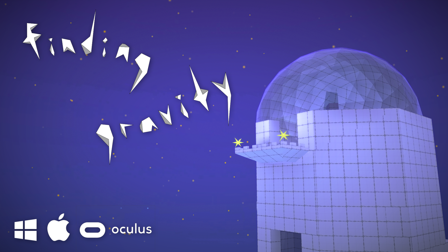 Finding Gravity - a cooperative puzzle game for PC/Mac/VR by