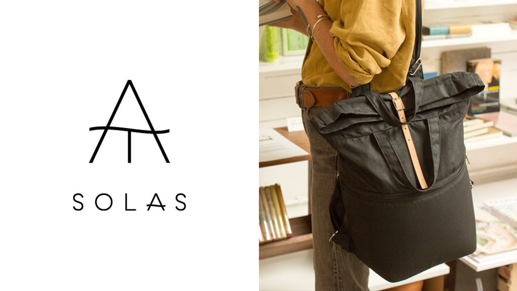 11fc07da4c Tiny Atlas SOLAS  A casual camera bag for photographers project video  thumbnail